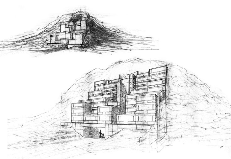Rokko Housing Sketch