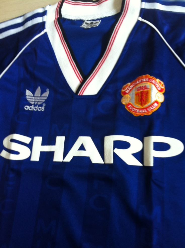 manchester united blue away kit 2014