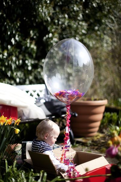 clear balloons filled with confetti  release to skyFun Balloons, Birthday Parties, Confetti Parties, Clear Balloons, Balloons Release, Latex Balloons, Balloons Filling, Balloons 90Cm, Large Balloons