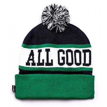 """""""All Good"""" Pom Pom Beanie from Undefeated $39.95"""