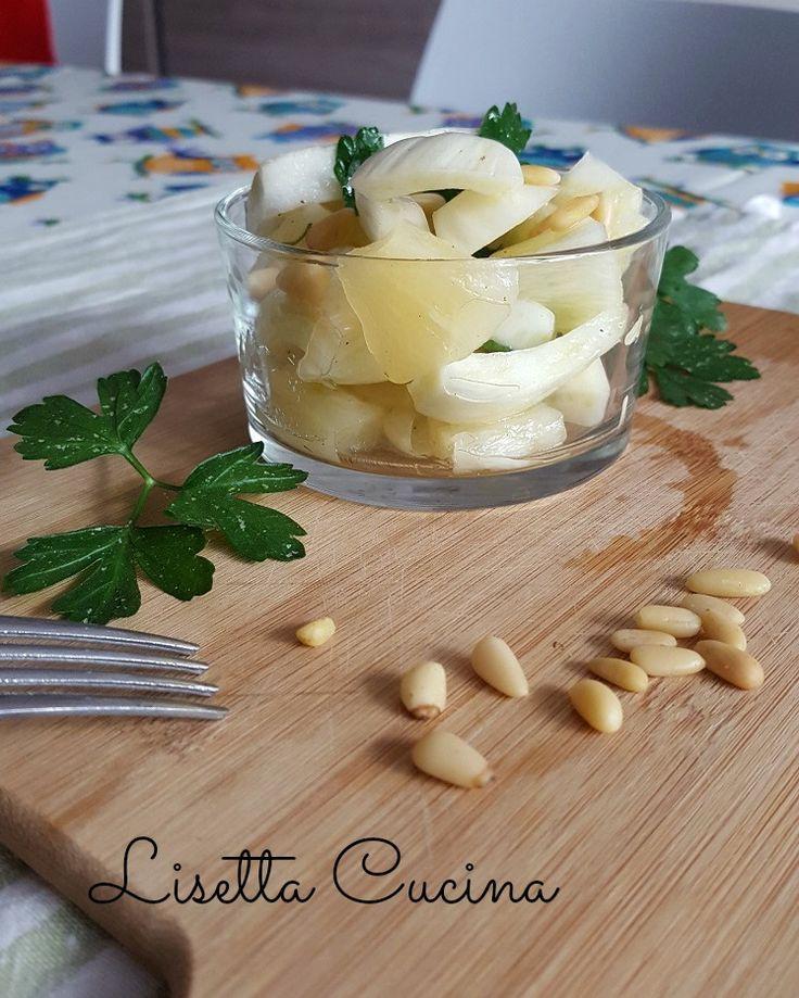 Insalata di finocchi e ananashttp://blog.giallozafferano.it/lisettacucina/insalata-ceci-estiva/