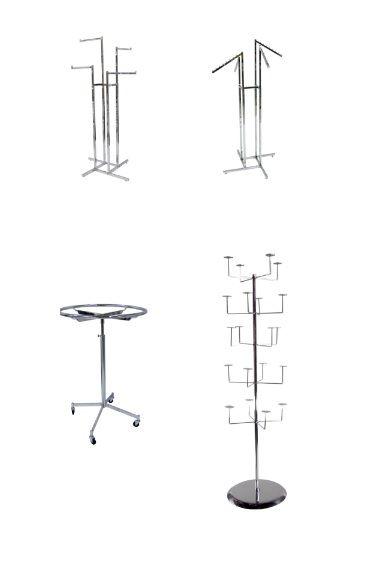 Adjustable Floor Racks and Displays Racks - http://idealdisplays.ca/05_floor_racks.html