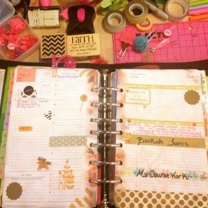 Decorating My Franklin Covey Planner