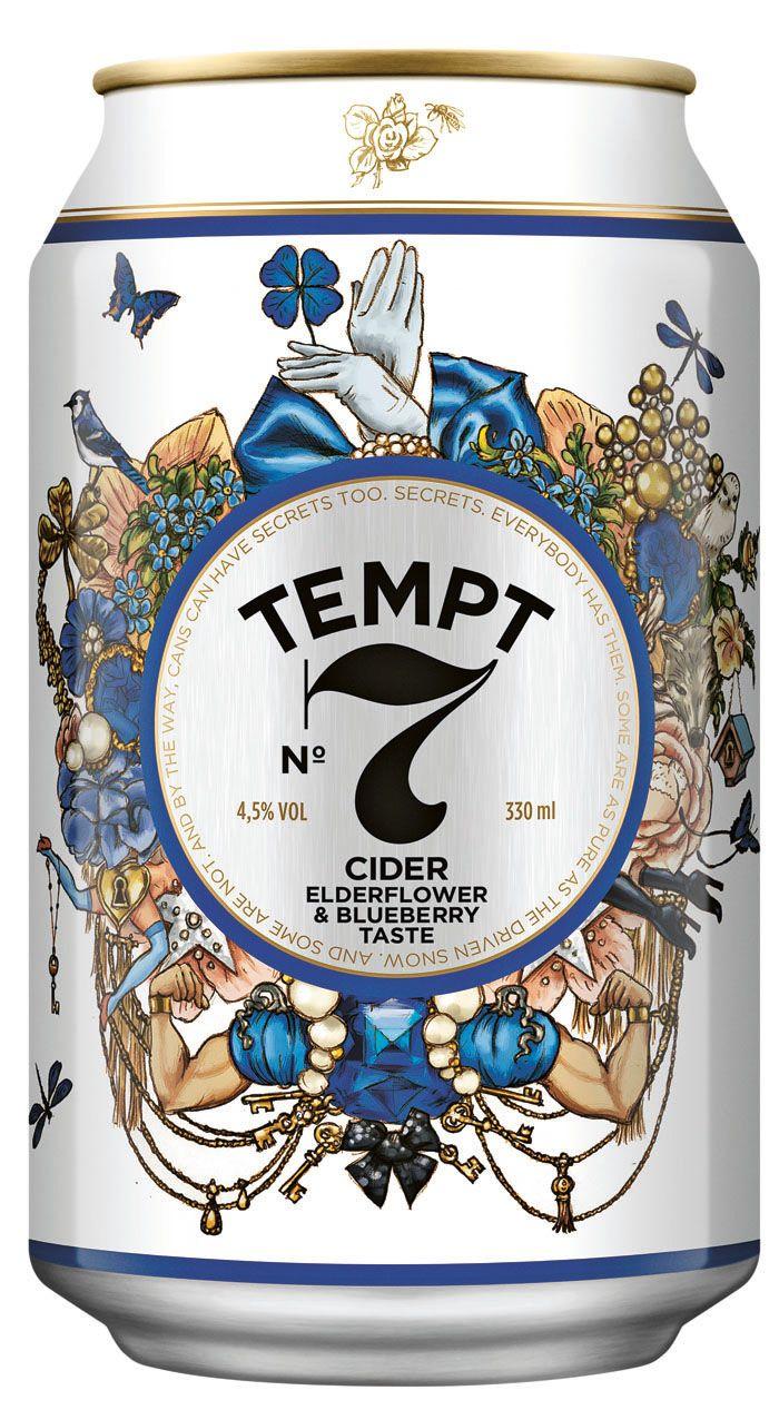 Tempt Cider | DDB Danmark | http://www.ddbdanmark.dk/   beautiful design