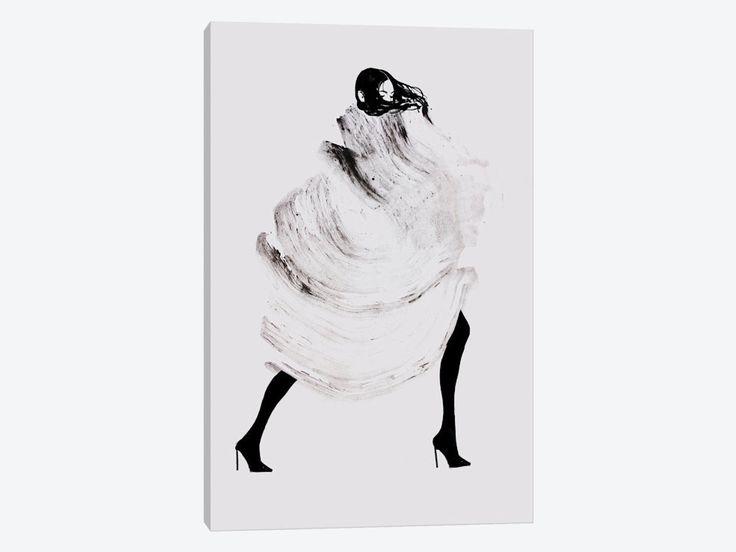 """Running Late III by Judith van den Hoek Canvas Print 26"""" L x 40"""" H x 0.75"""" D"""