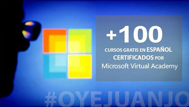 +100 #cursos gratis en español dictados por #Microsoft (con certificado)