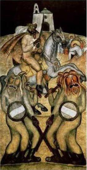 Battle Dance | Diego Rivera