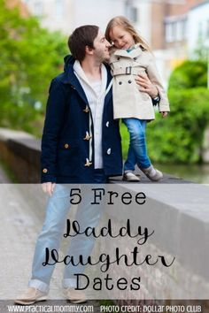 5 Free Daddy Daughter Dates