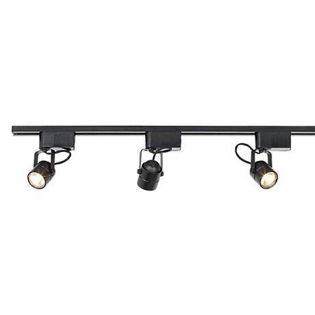 Pro Track® Black 150 Watt 3-Light Low Voltage Track Kit
