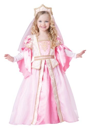 When she wears this Toddler Princess Costume, she'll look like an incredible princess straight from her favorite fariy tale.