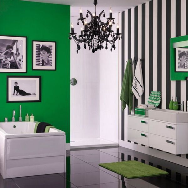 Bathroom Ideas Green And White best 25+ bright green bathroom ideas on pinterest | light green