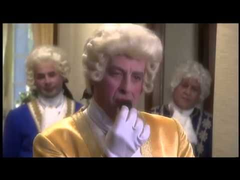 Samson en Gert - De pruikentijd (Wig Time) - [YouTube 3:03min] No idea what's really going on here, but they all do act and look like Georgian gits, particularly in their awful wigs! ;/