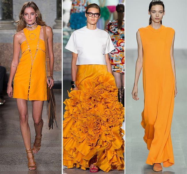 I colori di tendenza per la Primavera-Estate? Il color Tangerine! #fashion #trend #spring