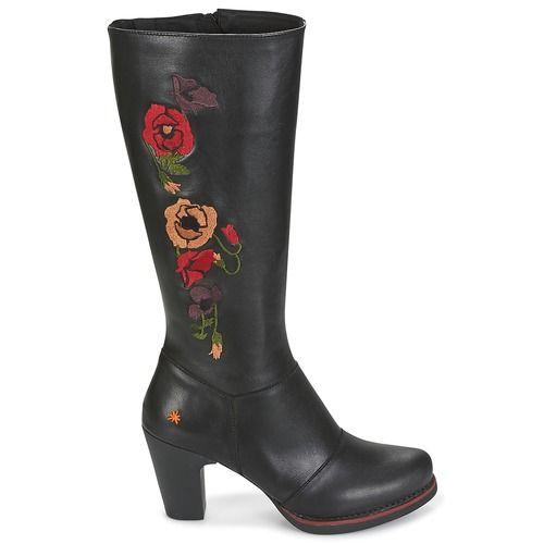 Schoenen Dames Hoge laarzen Art GRAN-VIA Zwart
