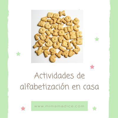 """""""alt""""actividades de alfabetizacion en casa 1 mimamadice.com"""