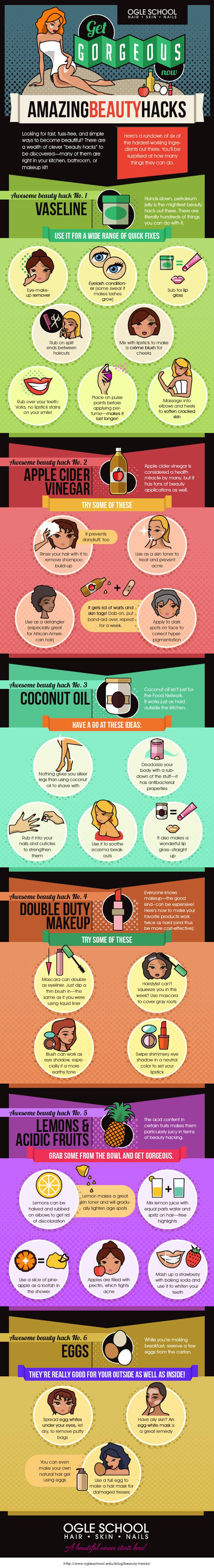 Beauty Hacks# tips