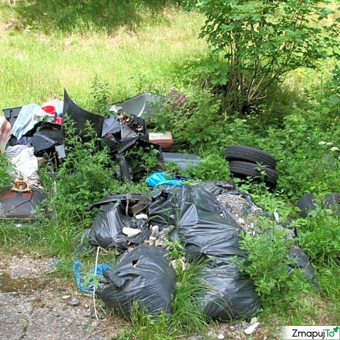 Podnět 142503 - Černá skládka - Domašín Klášterec nad Ohří Chomutov #Černáskládka #DomašínKlášterecnadOhříChomutov #ZmapujTo #MobilniRozhlas
