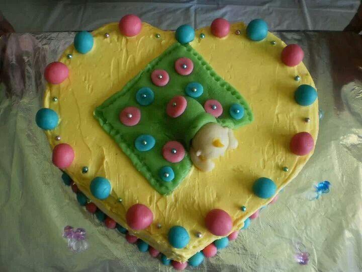 Baby Shower Cake - Buttercream.