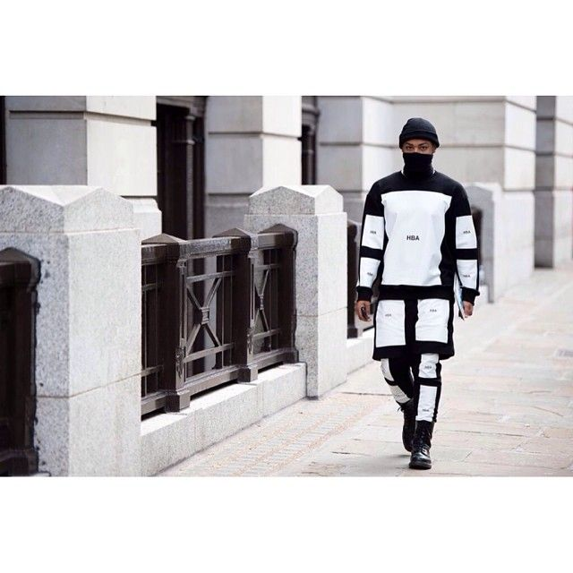HOOD BY AIR  #DADA #fasion #hba #hoodbyair #trill #beentrill #fbloggers #fashionable #fashionkiller #style #sneaker #swagger #swag #black #white #clothing #vscocam #instasize #instafashion #hypebeast #lookbook #luxury #liketit #asap #asaprocky #travisscott #street #style #DADApeople