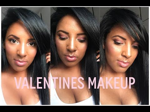 Valentines Glam Tutorial 2016 ♡ | Canvas Fashions - South African Beauty Blogger - YouTube