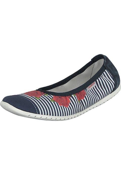 Chaussures Giesswein DEINSTEDT - Ballerines pliables - dark blue bleu foncé: 49,95 € chez Zalando (au 23/04/17). Livraison et retours gratuits et service client gratuit au 0800 915 207.