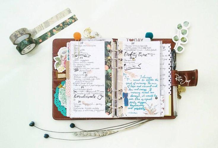 "Rita Juq (@ritajuq) Instagram: ""#planningwithjuq 🔶 *Week of Jan 22nd 🔷 #weeklyspread with a beautiful #victoriaerickson #quote How…"""