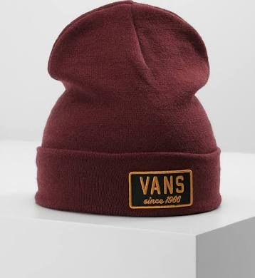 bonnet vans bordeaux