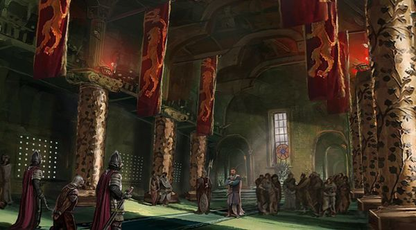 the lannisters send their regards game of thrones art