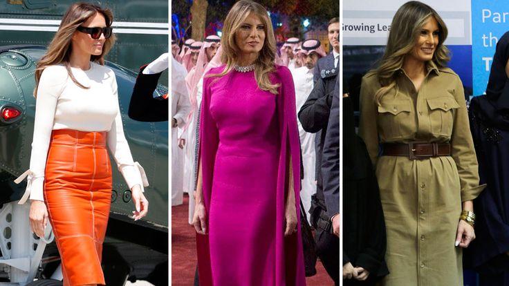 Melania Trump wins praise in Saudi Arabia for her 'elegantly respectful' tour outfits