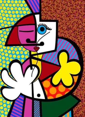 Romero Britto, Tight Hug http://www.artspace.com/romero_britto/tight_hug?ty=follow_thankyou&fid=1655&sj=1