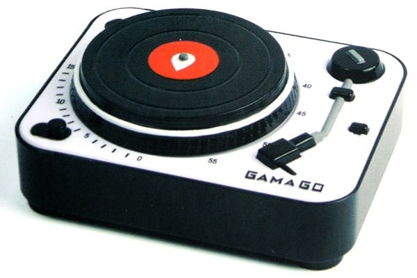Record-player kitchen timer