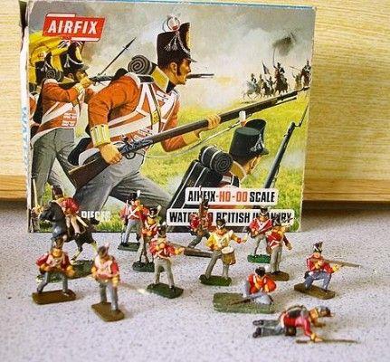 Waterloo British Infantry