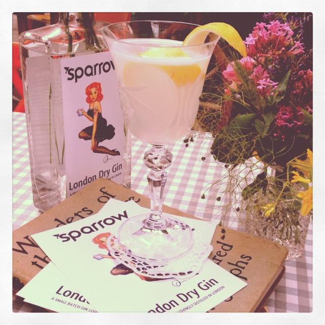 Sparrow Gin @ Maltby St Market, SE1....