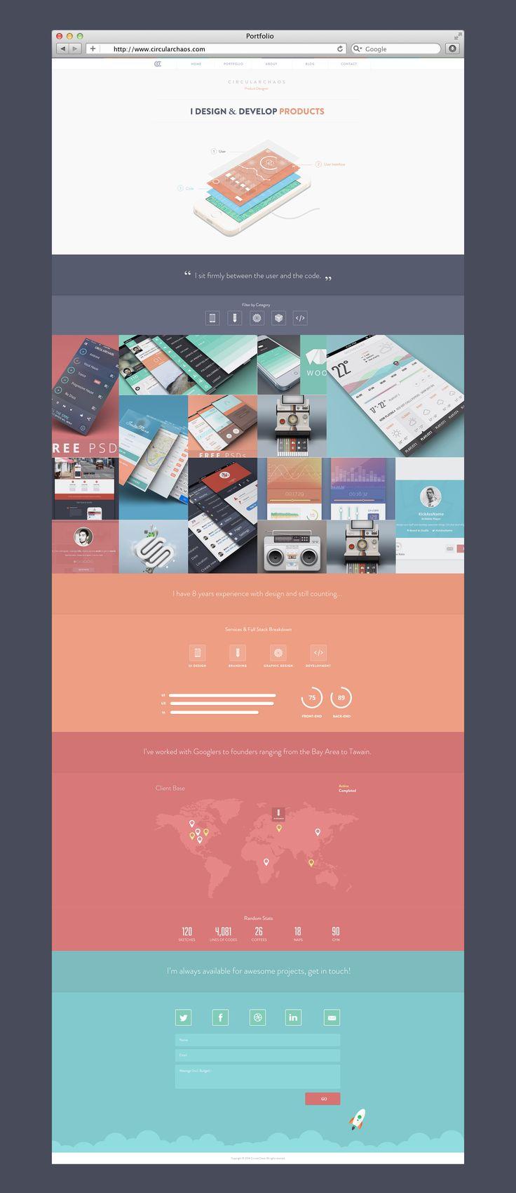 New Portfolio Site (WIP) by Balraj Chana