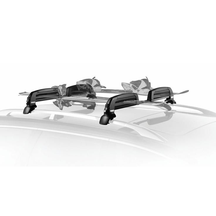 Thule 5401 Snowcat Ski and Snowboard Rack with Locks