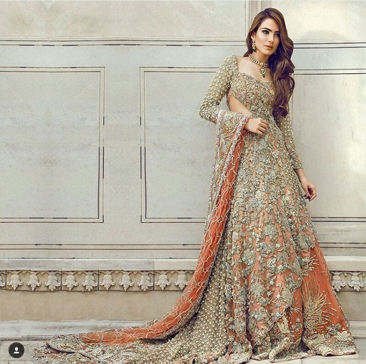 Pakistani couture.