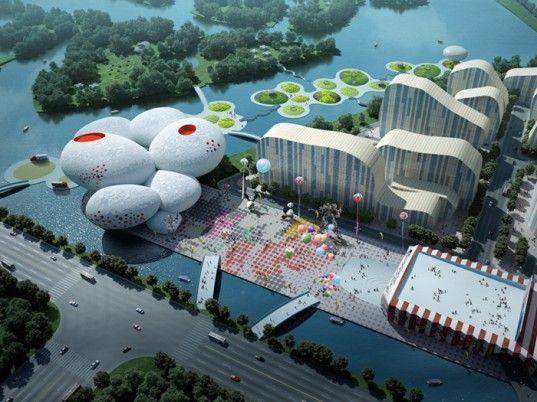 MVRDV, Çin, mimari, Hangzhou, Comic ve Animasyon Müzesi, yeşil tasarım, eko tasarım, sürdürülebilir tasarım,