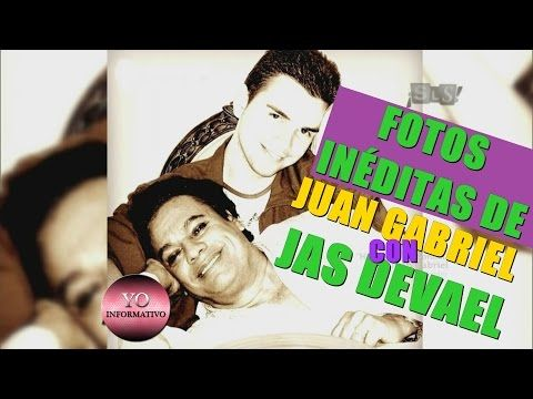 Fotos inéditas de Juan Gabriel con Jas Devael y su familia - YouTube
