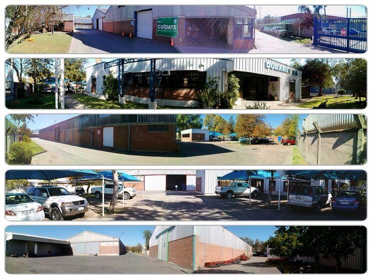 Arriendo de Bodegas - Fabricacion de Estructuras Metalicas Duramet - Telef. 228571547 - 228571983 - 228571408