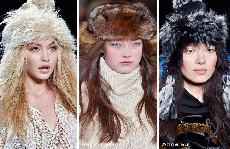 Οι Τάσεις στα Γυναικεία Χειμωνιάτικα Καπέλα 2015-2016   Woman Oclock