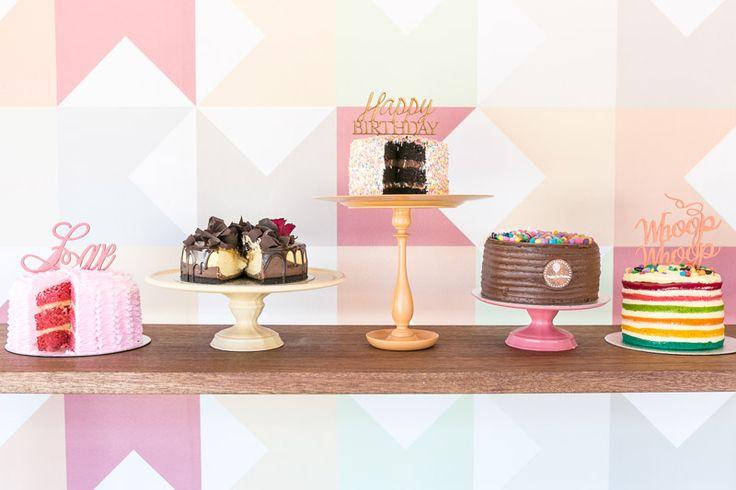 Wedding cake buffet @ The velvet cake co.