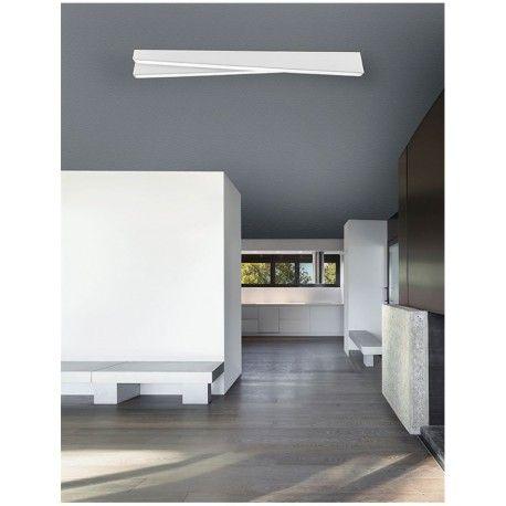 Φωτιστικό κρεμαστό LED CORE λευκό αλουμινίου & ακρυλικό