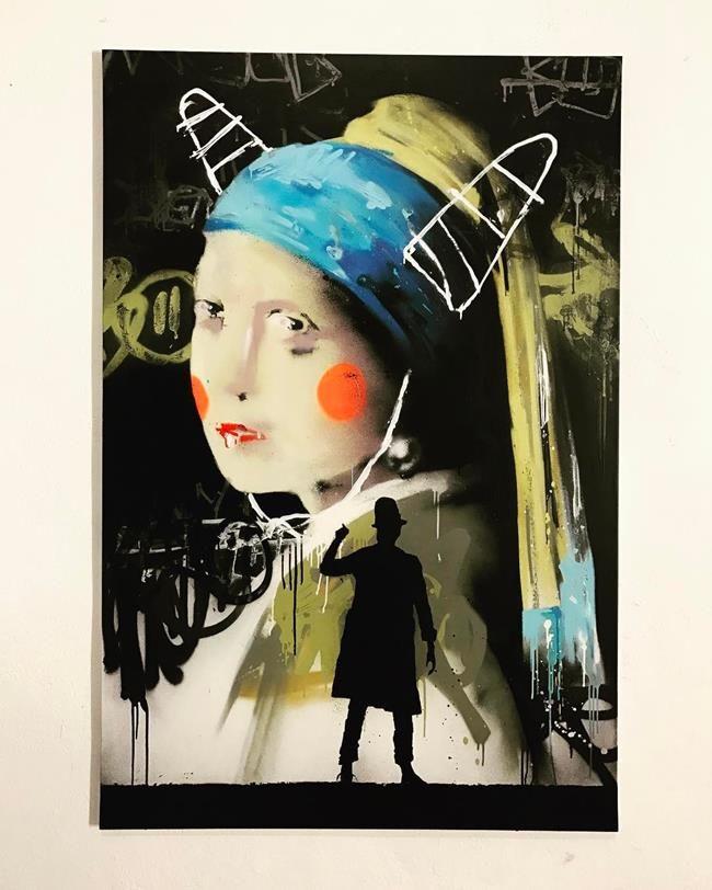 Sokakların Yeni Banksy'si Kenny Random'dan Etkileyici Sokak Sanatı Eserleri Sanatlı Bi Blog 35