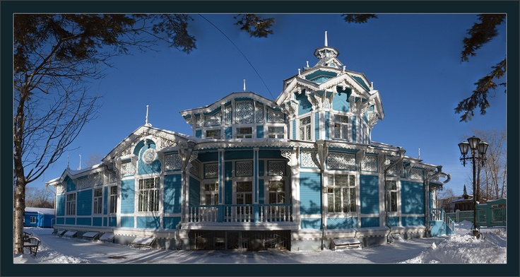 Tomsk, Russian-German house