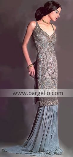 D3106 Bridal and High Fashion Stores in High Street Kensington, London Party Wear