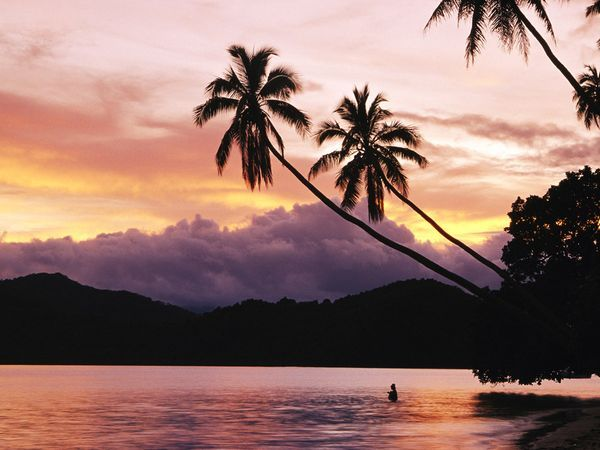 Fiji Islands...yes I live on an island...but i can never get over the beauty of the ocean