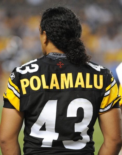 Troy Polamalu growing my hair like his
