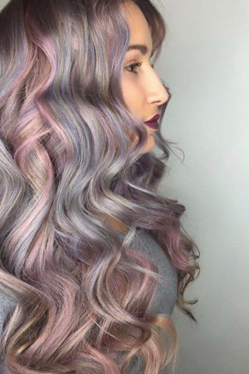 Metallic hair was major in 2016, especially after Guy Tang launched his metallic hair dye line.   17 Hair Trends That Made 2016 Colorful AF