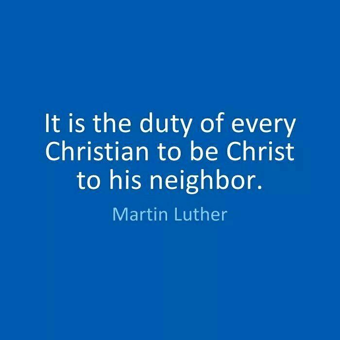 Martin Luther, Jesus