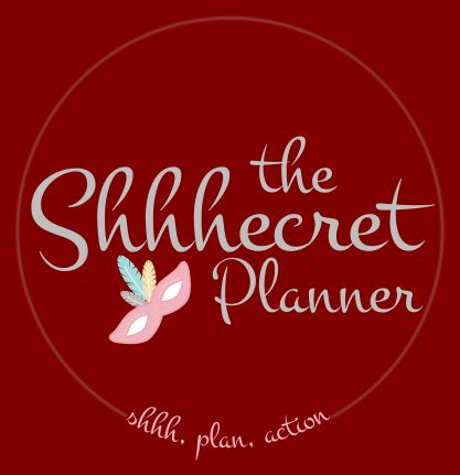 Logo design for The Shhhecret Planner